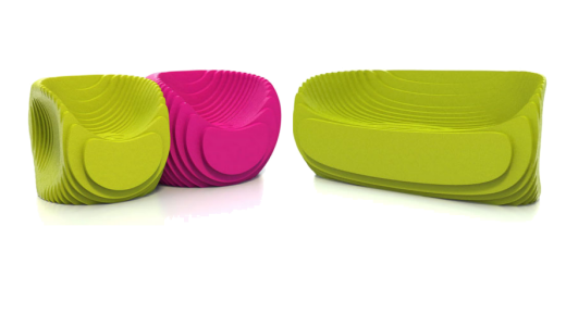 Peter Donders launches his morphs brand and introduces his morphs seating line...